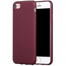 Iphone 6 Plus / 6s Plus PIPILU/X-LEVEL Guardian Silikoninis 0,6mm bordo