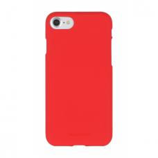 iphone 6/6s dėklas MERCURY JELLY SOFT FEELING silikonas matinis raudonas