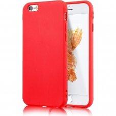 Akcija! Iphone 6/6s dėklas Silicone Case Soft raudonas