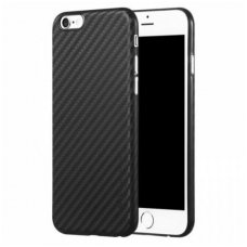 Iphone 6 / 6s dėklas X-LEVEL CARBON ColorFiber juodas