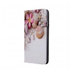 Samsung Galaxy A10 atverčiamas dėklas SMART TRENDY Holiday Beach
