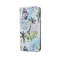 Iphone 7 / Iphone 8 atverčiamas dėklas SMART TRENDY Tropical Palm
