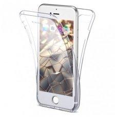 Iphone 7 / 8 dėklas abipusis Silikoninis 360 TPU 0,3mm