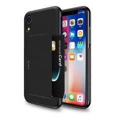 iphone xs max dėklas DUX DUCIS PoCard  juodas