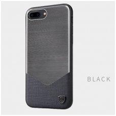 Iphone 7 / 8 dėklas NILLKIN Lenson serijos juodas / pilkas