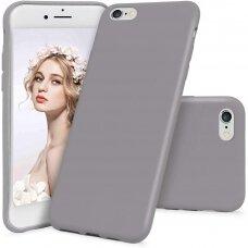 Akcija! Iphone 7 / 8 / SE 2020 dėklas MERCURY SILICONE levandos spalvos