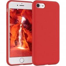 Iphone SE 2020 dėklas MERCURY SILICONE raudonas
