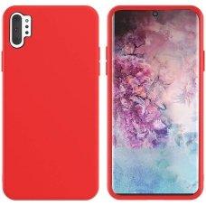 Samsung galaxy Note 10 plus dėklas MERCURY SILICONE raudonas