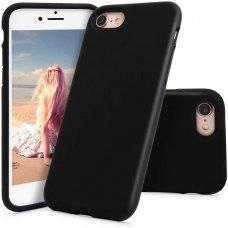 Akcija! Iphone 7/ Iphone 8 dėklas MERCURY SILICONE juodas