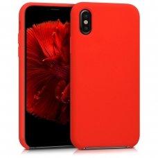 Iphone x/ xs dėklas Vennus silicone lite raudonas