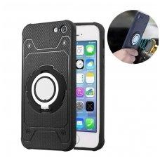 iphone 7/8 dėklas cosmo ring tpu juodas
