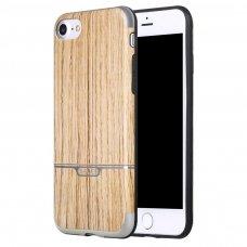 dėklas pipilu/x-level wood tpu auksinis Iphone SE 2020