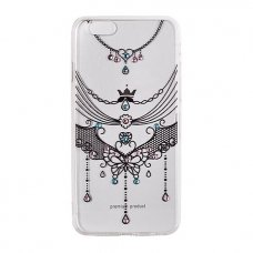 """Iphone SE 2020 DĖKLAS VENNUS """"DIAMOND 1"""" silikonas juodas"""