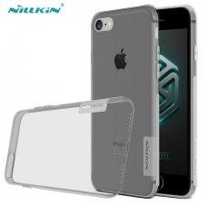 Iphone 7/8 dėklas Nillkin dėklai, Silikoninis permatomas 0,6mm pilkas