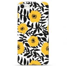 """Iphone 7 / Iphone 8 TPU dėklas unikaliu dizainu 1.0 mm """"u-case Airskin Flowers 2 design"""""""