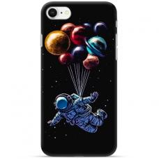 """Iphone 7 / Iphone 8 TPU dėklas unikaliu dizainu 1.0 mm """"u-case Airskin Cosmo design"""""""
