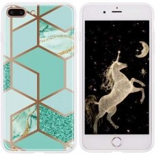 iphone 7 plus / 8 plus Cosmo Marble silicon dizainas 2