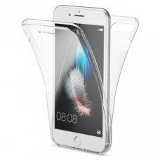 iphone 7 plus / 8 plus dėklas dvipsusis 360 TPU 0,3mm skaidrus