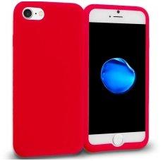 iphone 7 plus / 8 plus dėklas goospery soft jelly case silikonas raudonas