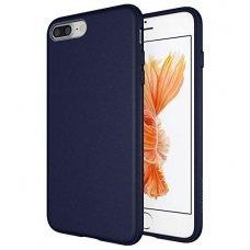 iphone 7 plus / 8 plus dėklas goospery soft jelly case silikonas tamsiai mėlynas