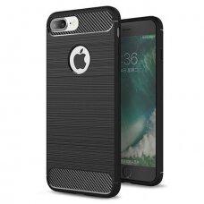 Iphone 7/ 8 / SE 2020 dėklas Carbon Case juodas