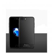 Iphone 7 plus / 8 plus dėklas ipaky CARBON juodas