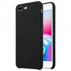 iphone 7 plus / 8 plus dėklas nillkin flex silikonas juodas