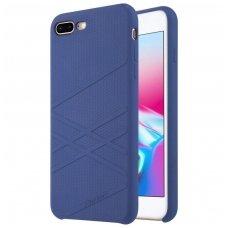 iphone 7 plus / 8 plus dėklas nillkin flex silikonas mėlynas