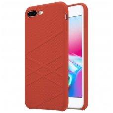 iphone 7 plus / 8 plus dėklas nillkin flex silikonas raudonas