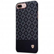 Iphone 7 plus / 8 plus dėklas Nillkin OGER SU METALINE PLOKŠTELE MAGNETINIAM LAIKIKLIUI juodas