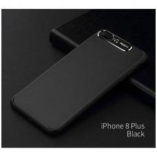 iphone 7 plus / 8 plus dėklas rock classy pc plastikas juodas