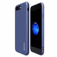 Iphone 7 Plus / 8 plus Nillkin Eton serijos mėlynas su įmontuota metaline plokštele leidžia naudoti su magnetiniu laikikliu