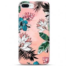 """Iphone 7 Plus / Iphone 8 Plus TPU DĖKLAS UNIKALIU DIZAINU 1.0 MM 1.0 mm """"u-case airskin Flowers 1 design"""""""