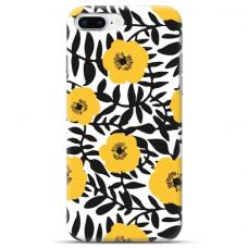 """Iphone 7 Plus / Iphone 8 Plus TPU DĖKLAS UNIKALIU DIZAINU 1.0 MM 1.0 mm """"u-case Airskin Flowers 2 design"""""""