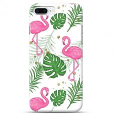 "Iphone 7 Plus / Iphone 8 Plus TPU dėklas unikaliu dizainu 1.0 mm ""u-case Airskin Flamingos design"""