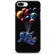 """Iphone 7 Plus / Iphone 8 Plus TPU dėklas unikaliu dizainu 1.0 mm """"u-case Airskin Cosmo design"""""""
