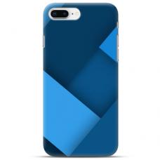 """Iphone 7 Plus / Iphone 8 Plus TPU dėklas unikaliu dizainu 1.0 mm """"u-case Airskin Blue design"""""""