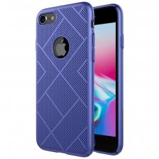 Iphone 7/ Iphone 8 DĖKLAS NILLKIN AIR PC PLASTIKAS mėlynas