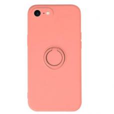 iphone SE 2020/ 7/ 8 dėklas su magnetu Pastel Ring Rožinis