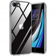 Iphone SE 2020 dėklas 3MK Clear TPU 1,2mm permatomas