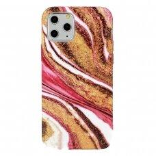 Iphone 12 / 12 pro dėklas Marble Silicone silikonas Dizainas 8