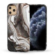 Iphone 12 mini dėklas Marble Silicone silikonas Dizainas 7