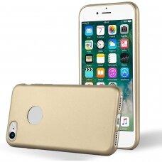 """Iphone SE 2020 Dėklas Mercury Goospery """"iJelly Metal Hole""""  auksinis"""