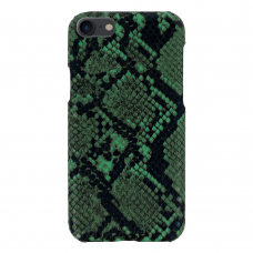 iphone se 2020 dėklas su gyvatės rašto imitacija Vennus WILD žalias