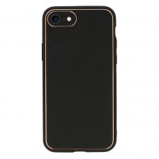 iphone se 2020 dėklas TEL Protect Luxury juodas
