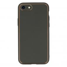 iphone se 2020 dėklas TEL Protect Luxury pilkas