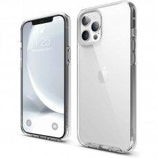 iphone 12 pro dėklas X-Level Space PC plastikas+TPU skaidrus