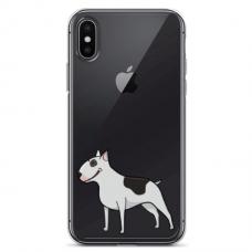 """Iphone X / Iphone XS TPU dėklas unikaliu dizainu 1.0 mm """"u-case Airskin Doggo 3 design"""""""