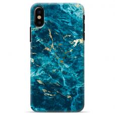 """Iphone Xs MAX TPU dėklas unikaliu dizainu 1.0 mm """"u-case Airskin Marble 2 design"""""""