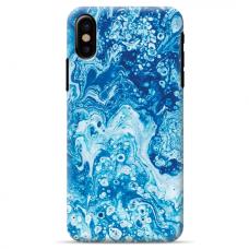 """Iphone Xs MAX TPU dėklas unikaliu dizainu 1.0 mm """"u-case Airskin Marble 3 design"""""""